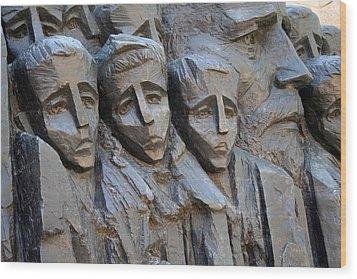 The Jewish Children Wood Print