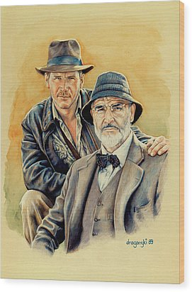 The Jones Boys Wood Print by Edward Draganski