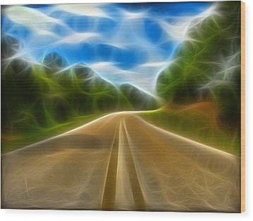 The Journey Wood Print by Wendy J St Christopher