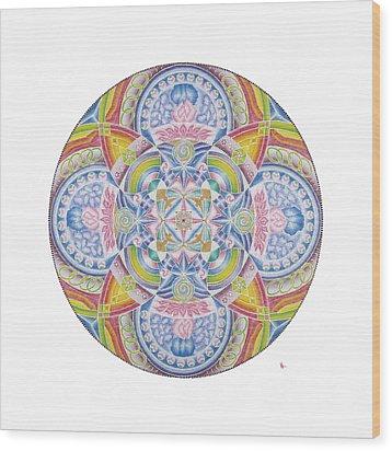 The Joy Of Life Wood Print by Vanda Omejc