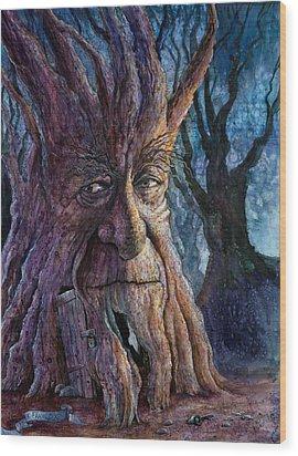 The Key Wood Print by Frank Robert Dixon