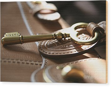 Wood Print featuring the photograph The Key II by Lynn England