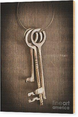 The Keys Wood Print by Edward Fielding