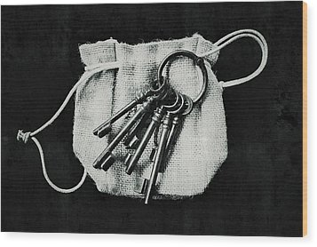The Keys Wood Print by Marco Oliveira