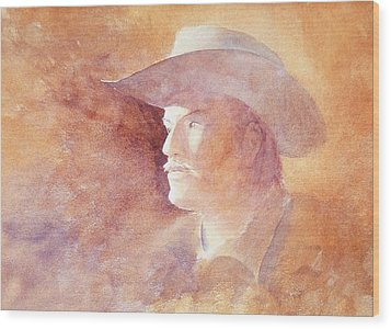 Wood Print featuring the painting The Kid by John  Svenson
