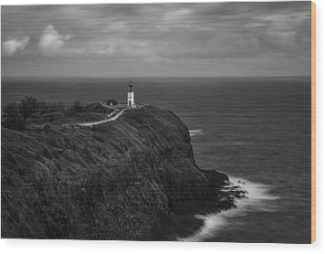 Wood Print featuring the photograph The Kilauea Lighthouse  by Hawaii  Fine Art Photography