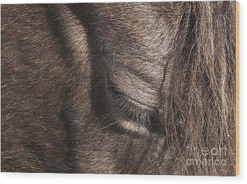 The Kind Eye Wood Print