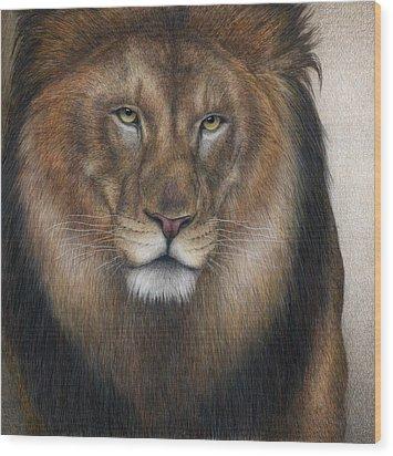 The King Grows Weary  Wood Print by Pat Erickson