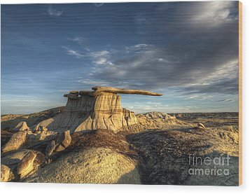 The King Of Wings Wood Print by Bob Christopher