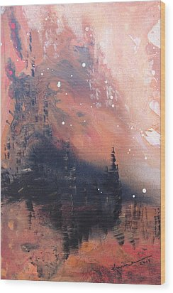 The Kingdom Under The Mountain Wood Print by Kume Bryant