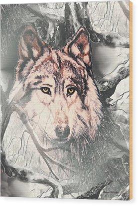 The Lair Wood Print