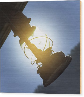 The Lantern Wood Print by Mike McGlothlen