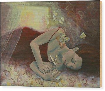 The Last Dream Before Dawn Wood Print by Dorina  Costras