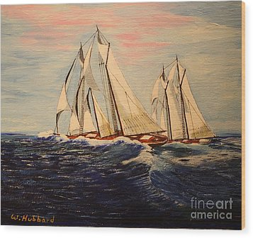 The Last Great Int'l. Fisherman's Race Wood Print