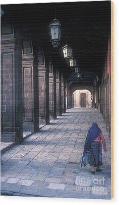 The Last Journey San Miguel De Allende Wood Print