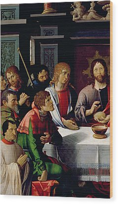 The Last Supper Wood Print by French School