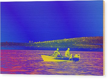 Wood Print featuring the photograph The Lazy Sunday Afternoon by David Pantuso