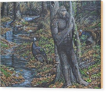 The Legend Of Gobble Creek Wood Print