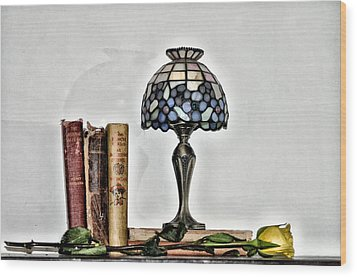 The Library Wood Print by Bill Cannon