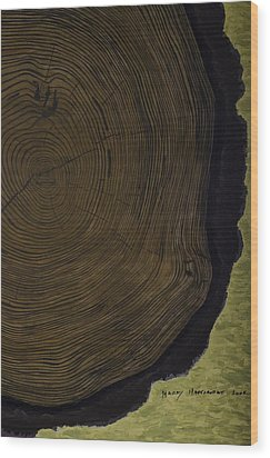 The Life Of Harry Hartshorne Wood Print by Harry Hartshorne