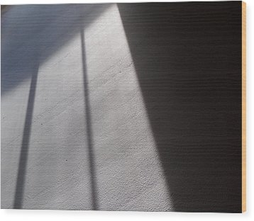 Wood Print featuring the photograph The Light From Above by Steven Huszar