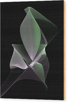 Wood Print featuring the digital art The Light Inside by Gabiw Art