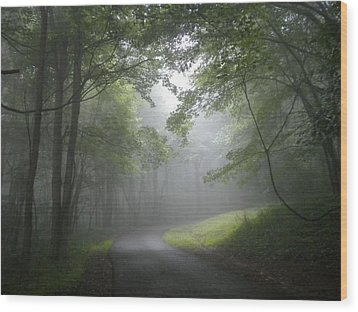 The Light Leading Home  Wood Print by Diannah Lynch