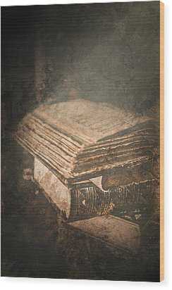 The Light Of Knowledge Wood Print by Loriental Photography