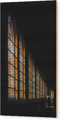 The Loco Shed Wood Print by motography aka Phil Clark