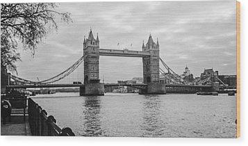 The London Bridge  Wood Print by Steven  Taylor