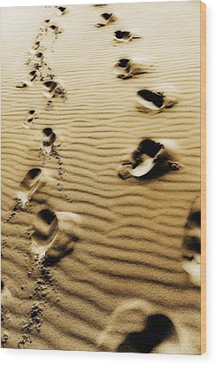 Wood Print featuring the photograph The Long Road To Love by Selke Boris