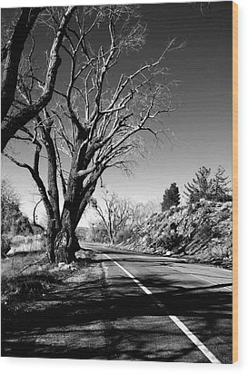 The Long Way Around  Wood Print by Glenn McCarthy Art and Photography