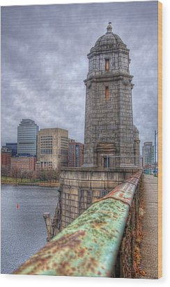The Longfellow Bridge - Boston Wood Print by Joann Vitali