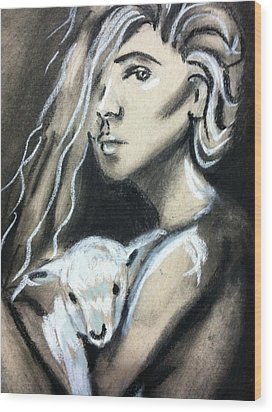 The Lost Girl Wood Print