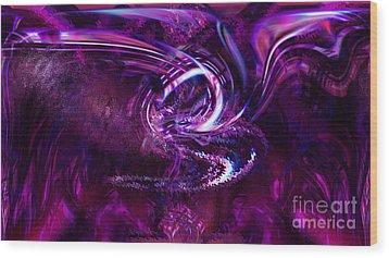 The Lotus Wood Print by Ashantaey Sunny-Fay