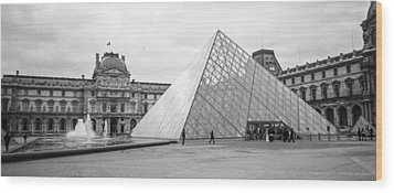 The Louvre  Wood Print by Steven  Taylor