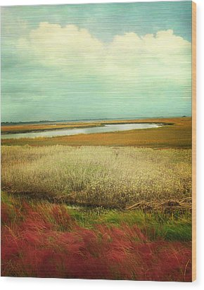 The Low Country Wood Print by Amy Tyler