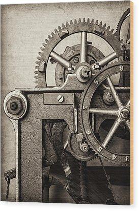 The Machine Wood Print by Martin Bergsma
