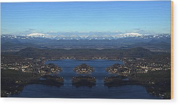 The Magic Lake Wood Print by Sir Josef - Social Critic - ART