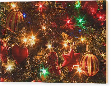 The Magic Of Christmas Wood Print by Julia Fine Art And Photography