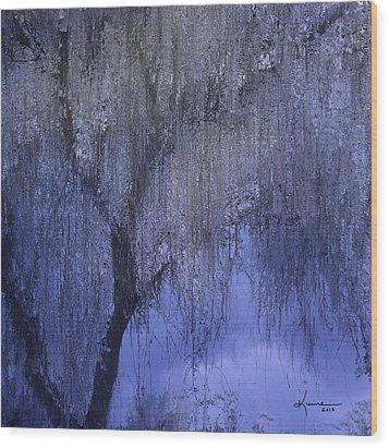 The Magic Tree Wood Print by Kume Bryant