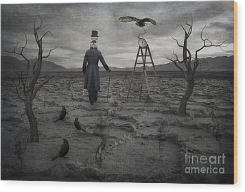 The Magician Wood Print