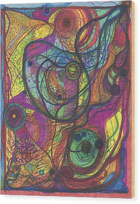The Magnificence Of God Wood Print by Daina White