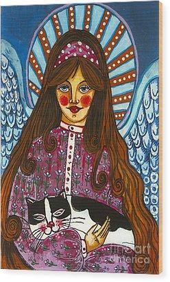 The Manolo Dream Wood Print by Iwona Fafara-Pilch