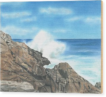 The Marginal Way Wood Print