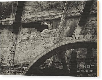 The Marks Of Age Wood Print by Paul W Faust -  Impressions of Light
