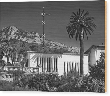 Wood Print featuring the photograph The Matisse Chapel Vence by Richard Wiggins