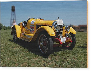 The Mercer Raceabout Roadster Wood Print by Mustafa Abdullah