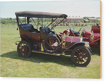 The Mercer Touring Sedan Wood Print by Mustafa Abdullah