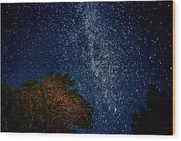 The Milky Way 2 Wood Print by Steve Harrington